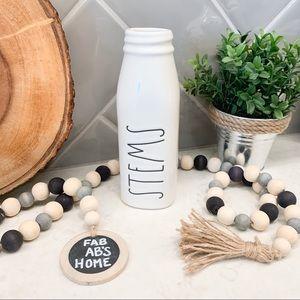 Rae Dunn STEMS Milk Bottle Vase